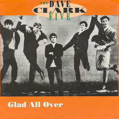 'Glad All Over' cover art